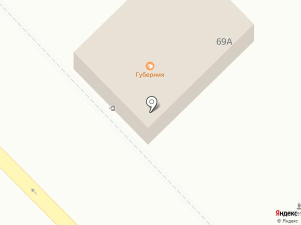 Губернская булочная на карте Минусинска