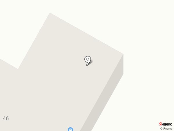 Автовинил на карте Минусинска