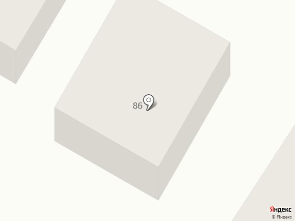 Старый домъ на карте Минусинска