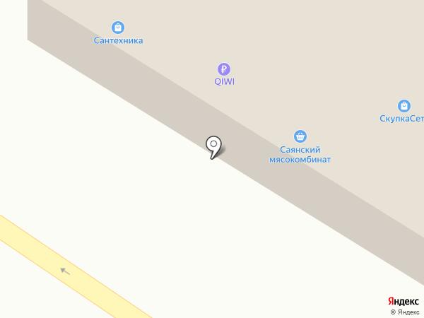 Саид на карте Минусинска