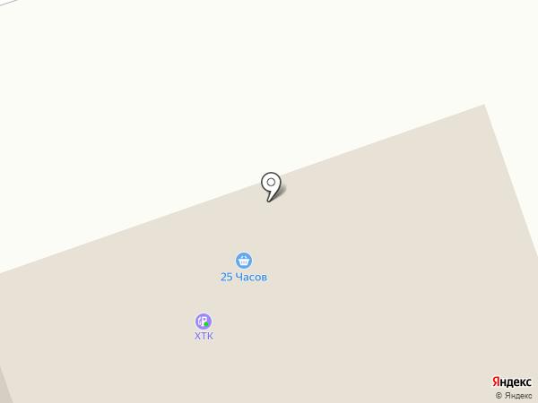 ХЭК на карте Минусинска
