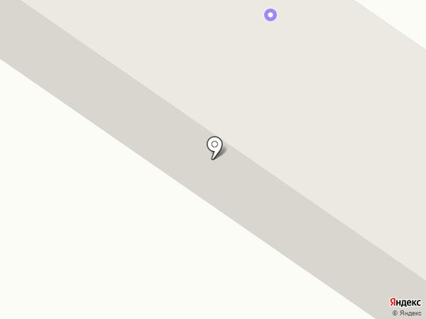 Верхнеенисейское аэро-геодезическое предприятие на карте Минусинска