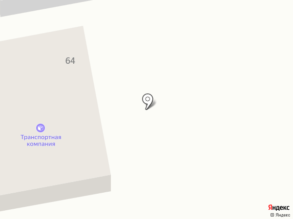 Транспортная компания на карте Минусинска
