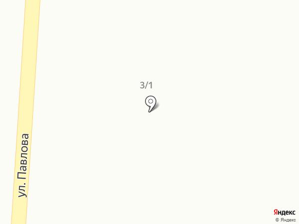Автостоянка на карте Кедрового