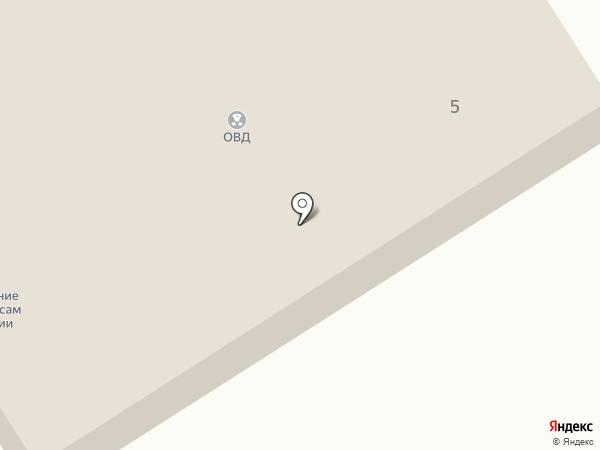 Пункт полиции на карте Кедрового