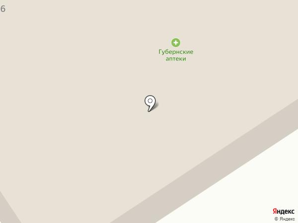 Каравай на карте Кедрового