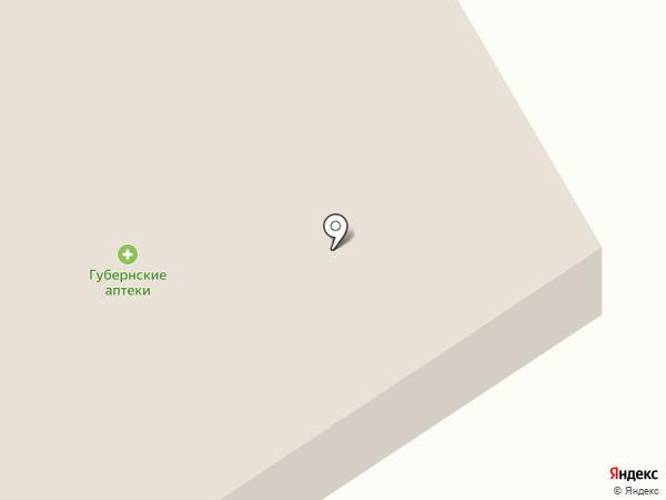 Батон на карте Кедрового