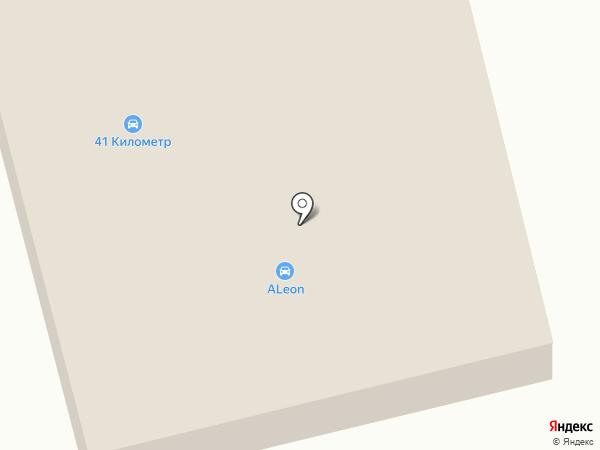 Волна на карте Дивногорска