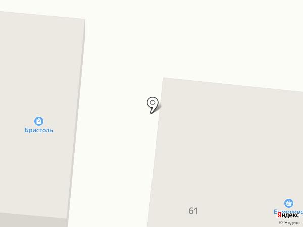 Дивный на карте Дивногорска