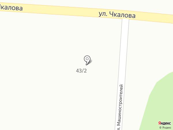Автостоянка на карте Дивногорска