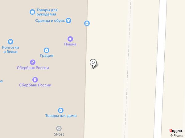 КОМП-АС на карте Дивногорска