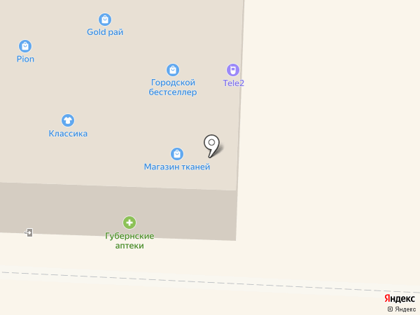 Наринэ на карте Дивногорска
