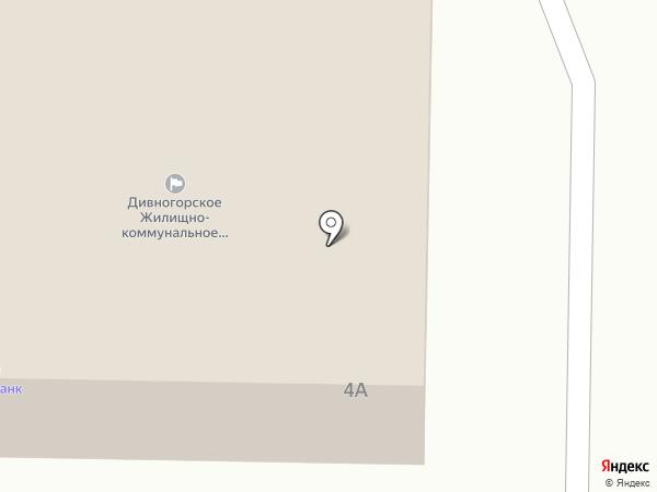 Банкомат, Восточно-Сибирский банк Сбербанка России на карте Дивногорска