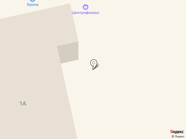 Авантаж на карте Дивногорска