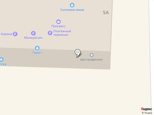 МТС на карте Дивногорска