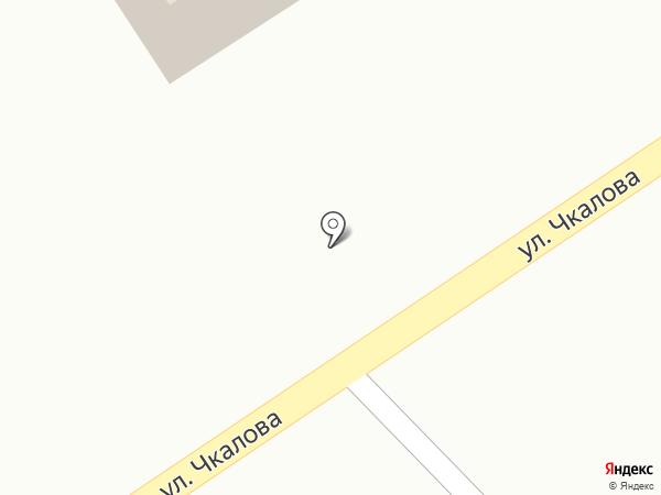 Киоск по продаже фастфудной продукции на карте Дивногорска
