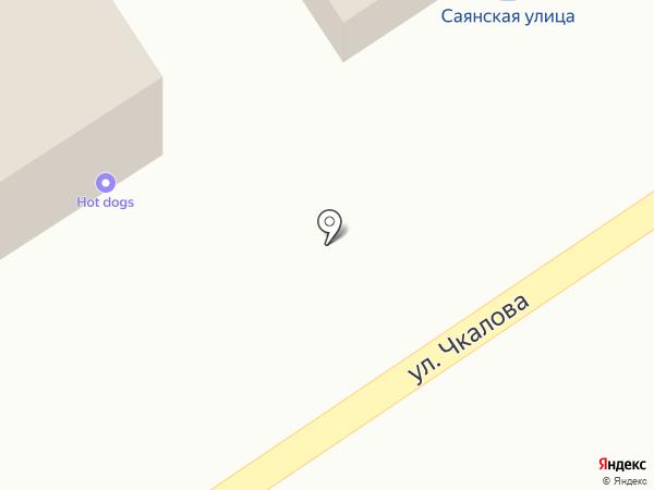 Авоська на карте Дивногорска