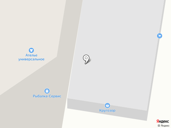 Кругозор на карте Дивногорска