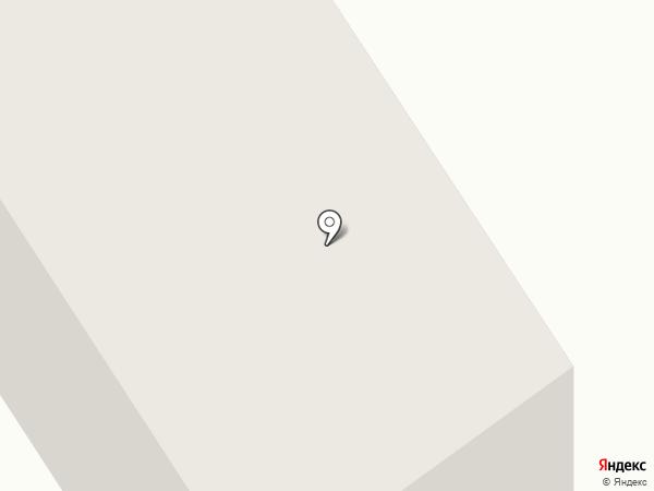 Общежитие №1 на карте Дивногорска