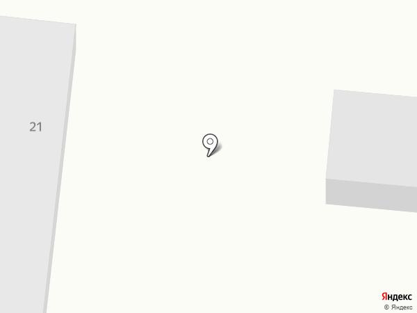 Даар на карте Дивногорска