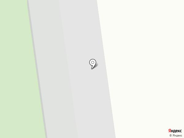 Манская Крепость на карте Красноярского края