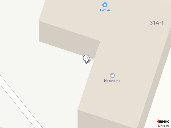 Источник на карте Элиты