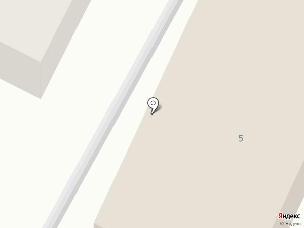 Шиномонтажная мастерская на Солнечной на карте Емельяново