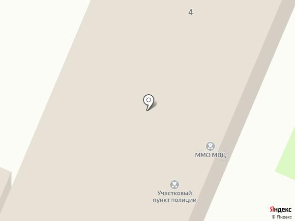 Межмуниципальный отдел МВД России Емельяновский на карте Емельяново