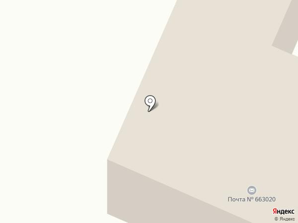 Почтовое отделение на карте Емельяново