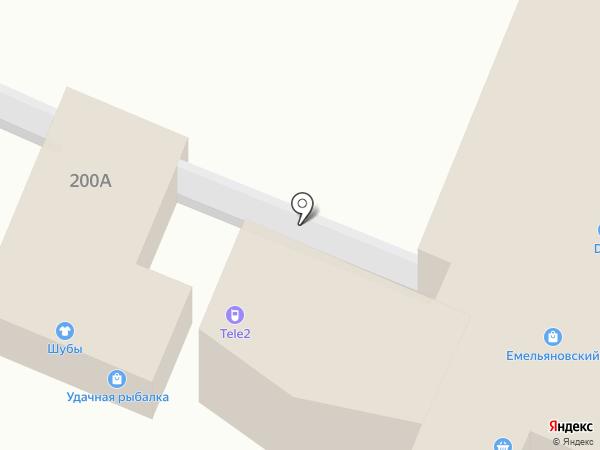 Tele2 на карте Емельяново