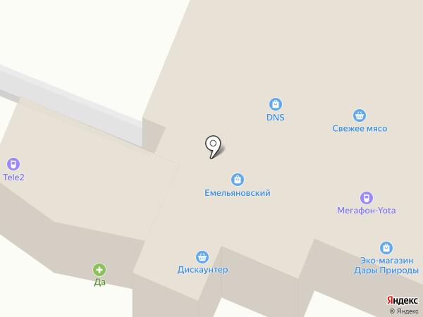 1000 мелочей на карте Емельяново