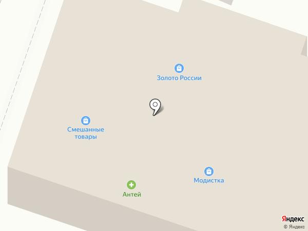 Ермолинские полуфабрикаты на карте Емельяново