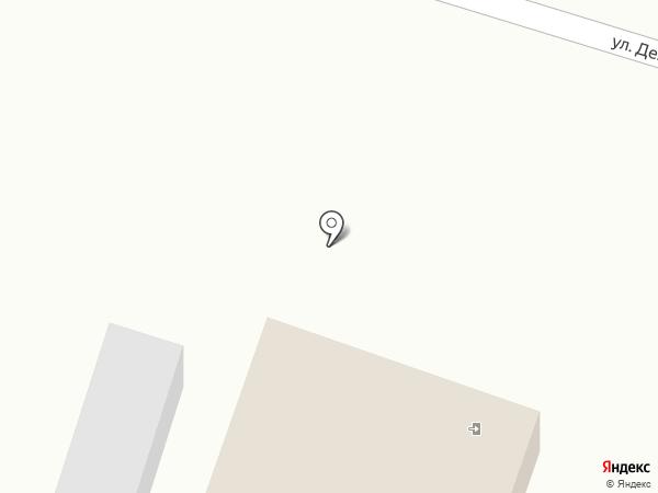 Клумба на карте Емельяново