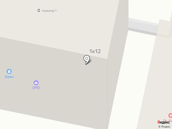 Хозяин на карте Красноярска
