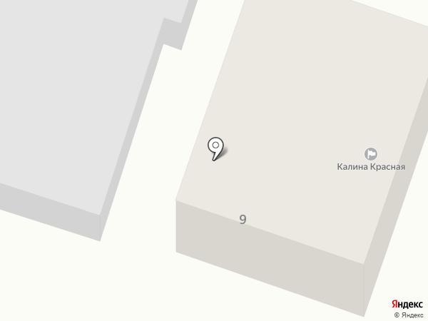Калина Красная на карте Емельяново