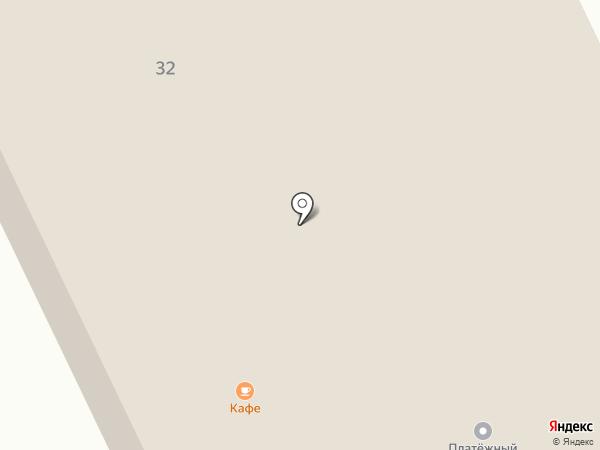 ВЕКТОР на карте Дрокино
