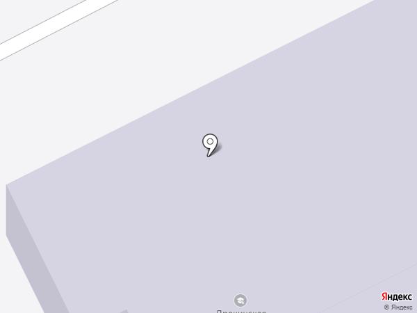 Дрокинская средняя общеобразовательная школа на карте Дрокино