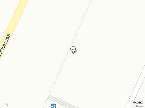 Царский стол на карте Красноярска