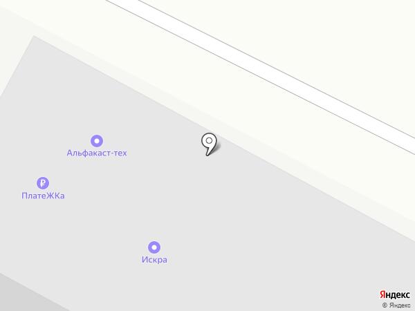 Вертикаль на карте Красноярска