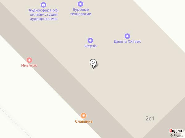 ФерзЬ на карте Красноярска