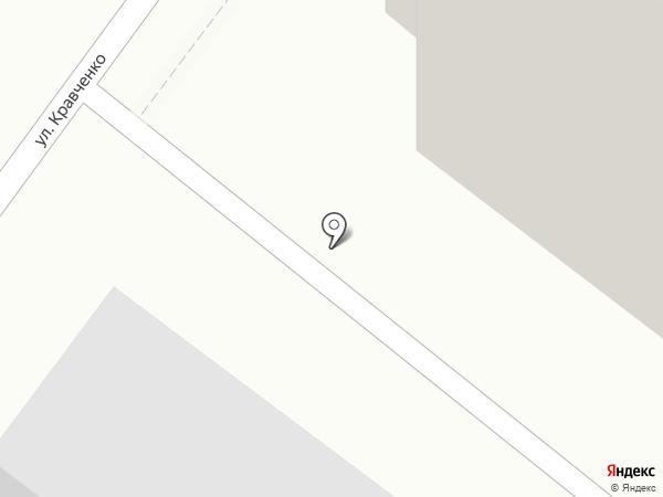 Серебро на карте Красноярска