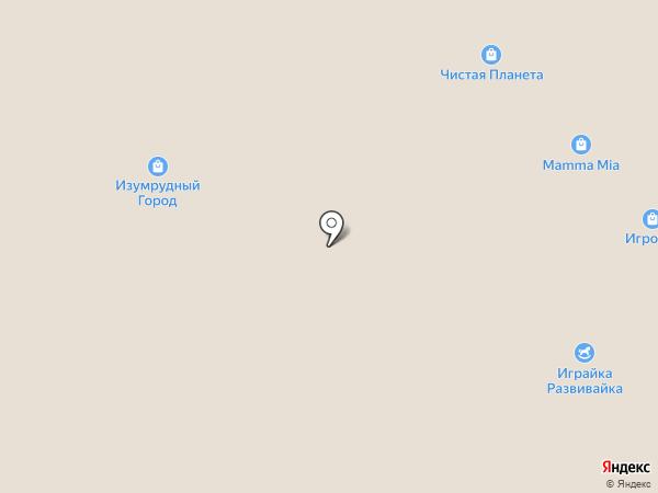 Магазин детской джинсовой одежды на карте Красноярска