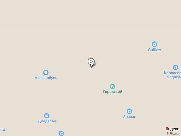 ДИАЛАН на карте Красноярска
