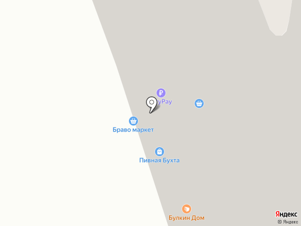 Булкин Дом на карте Красноярска