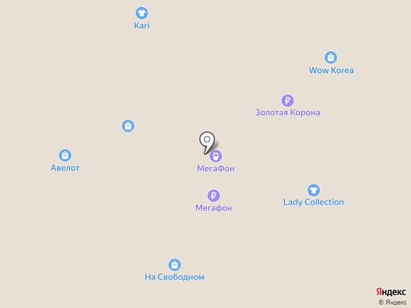 WOW Korea на карте Красноярска