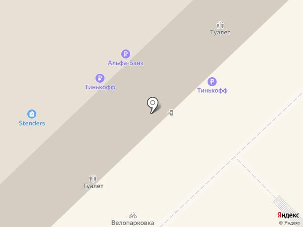 Гейзер на карте Красноярска