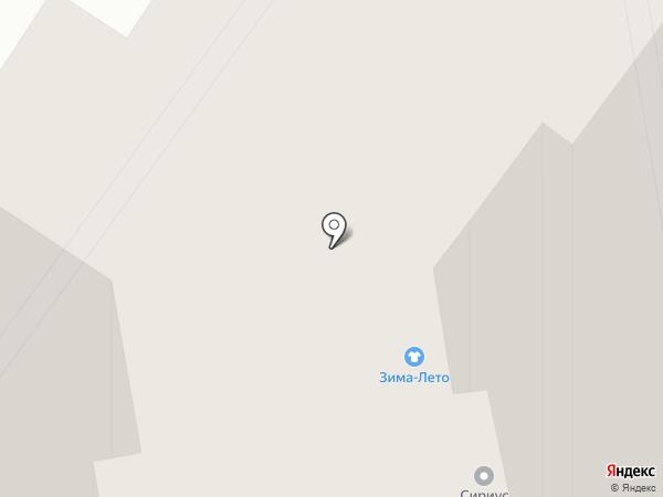 Магазин на карте Красноярска