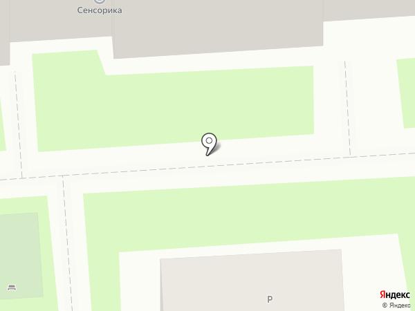Центр страхования на карте Красноярска