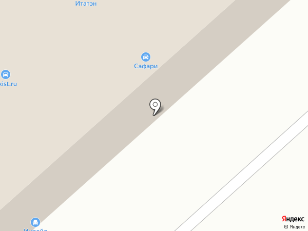 Трейдман на карте Красноярска