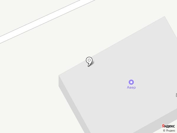 Авер на карте Красноярска